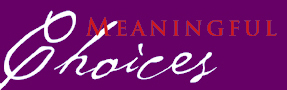 Meaningful Choices logo